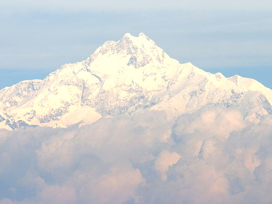 Kangchenjunga. Pictures of Indian Himalayas