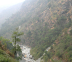Sikkim. River. Pictures of Indian Himalaya